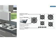 Cooktop a Gás Tramontina Penta SidePlus Vidro Branco Automático 5 Boca - 2
