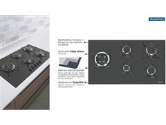 Cooktop a Gás Tramontina Penta Side Plus em Vidro Automático 5 Bocas - 2