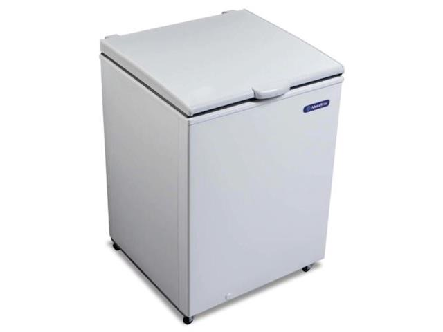 Freezer e Refrigerador Horizontal Metalfrio 166 Litros
