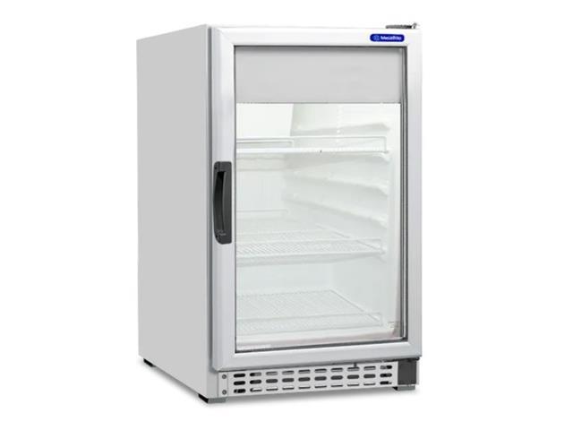 Refrigerador Vertical Porta de Vidro Metalfrio 152 Litros
