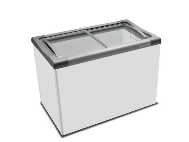 Freezer Horizontal com tampa de vidro 300 litros Metalfrio