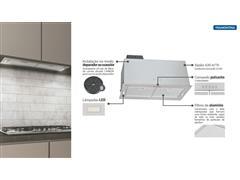 Coifa de Embutir Tramontina Incasso Retangular em Aço Inox 75CM - 4