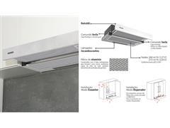 Depurador de Parede Retrátil Tramontina Slide 60 em Aço Inox 60CM - 3