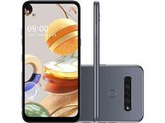 """Smartphone LG K61 4G 128GB Duos 6,53""""FHD+ IA Quad-Câm 48+8+5+2 Titânio - 0"""