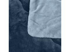 Edredom Buettner King Plush Flanel Dupla Face Azul - 2