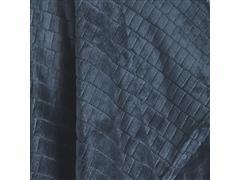 Manta Buettner Solteiro Ambiance Blocos Brilho Flannel Azul - 1