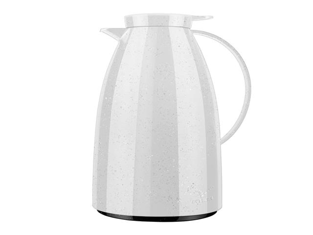 Bule Invicta com Gatilho Viena Ceramic Branco 1 Litro