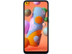 """Smartphone Samsung Galaxy A11 64GB 4G 6.4"""" Tripla Câm 13+5+2MP Azul - 2"""