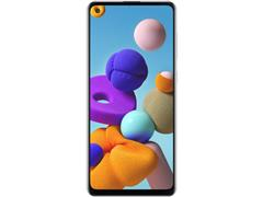 "Smartphone Samsung Galaxy A21s 64GB 4G 6.5"" QuadCâm 48+8+2+2MP Branco - 2"