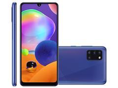 "Smartphone Samsung Galaxy A31 128GB 4G 6.4"" QuadCâm 48+8+5+5MP Azul - 1"