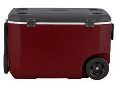 Caixa Térmica com Rodas Coleman Mahogany Vermelha 58 Litros - 2