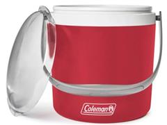 Caixa Térmica Coleman Seafoam Circle Vermelha 8,5 Litros - 1