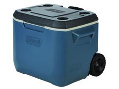Caixa Térmica com Rodas Coleman Dusk Azul 47 Litros - 1