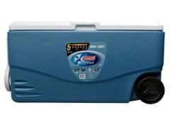 Caixa Térmica com Rodas Coleman Xtreme Azul 95 Litros - 1