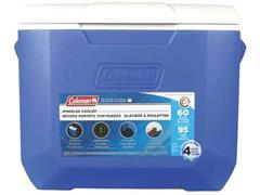 Caixa Térmica com Rodas Coleman Azul 56 Litros - 1