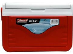 Caixa Térmica Coleman Vermelha 4,7 Litros - 1