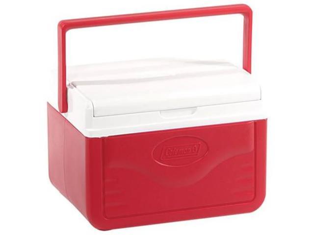 Caixa Térmica Coleman Vermelha 4,7 Litros