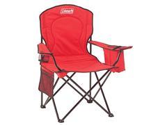 Cadeira Dobrável Coleman com Cooler Vermelha