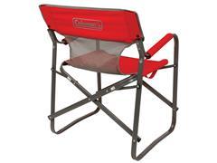 Cadeira Dobrável Coleman Steel Deck Vermelha - 1
