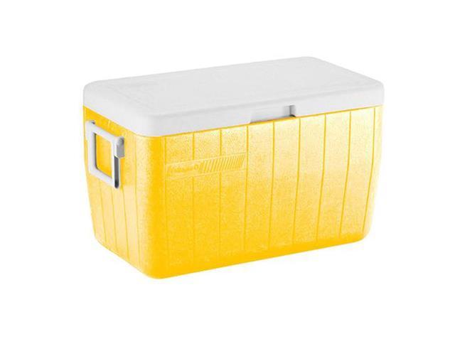 Caixa Térmica Coleman  Amarela 45 Litros
