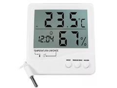 Termo Higrômetro Digital Incoterm Temperatura Interna Externa Umidade - 1