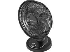 Ventilador 2 em 1 Cadence Turbo Conforto Black