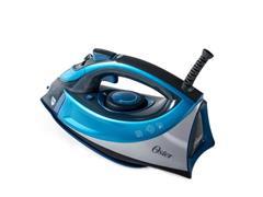 Ferro de Passar a Vapor Cerâmica Oster Turbo Steam Azul - 1