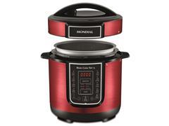 Panela de Pressão Elétrica Digital Mondial Master Cooker Red 3L - 1