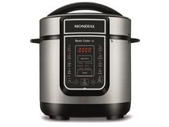 Panela de Pressão Elétrica Digital Mondial Master Cooker 3 Litros