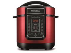 Panela de Pressão Elétrica Digital Mondial Master Cooker Red 3L