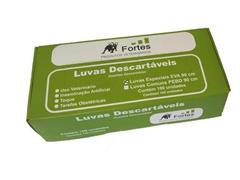 KIT c/3.500 Luvas para Inseminação Artificial Fortes Vet Eva Ultrafina - 1