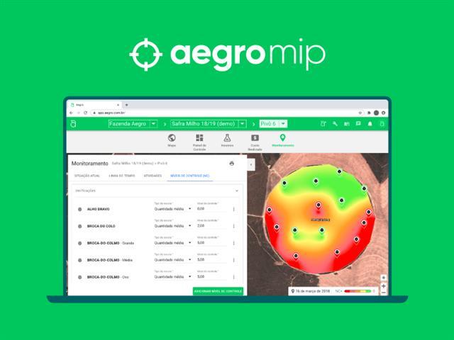 MIP - Solução Aegro para monitoramento de pragas e doenças - AEGRO