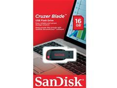 Pen Drive SanDisk Cruzer Blade Preto 16GB