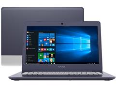 "Notebook VAIO® C14 Core™ i3 8GB RAM 1TB HD 14"" Windows 10 Azul e Prata"