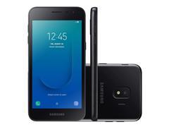 "Smartphone Samsung Galaxy J2 Core 2020 16GB 4G 5.0"" Câmera 8MP Preto"