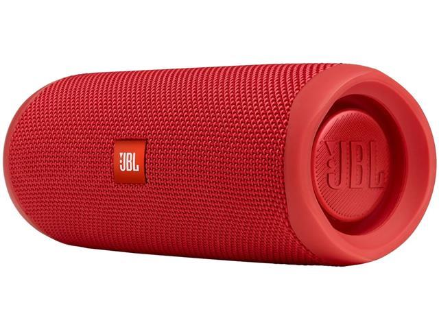 Caixa de Som Bluetooth JBL Flip 5 Vermelho