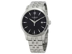 Relógio Victorinox Alliance Prateado fundo Preto - 1
