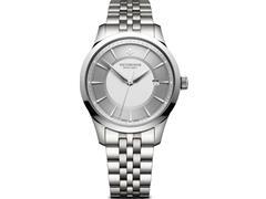 Relógio Victorinox Alliance Prateado fundo Cinza