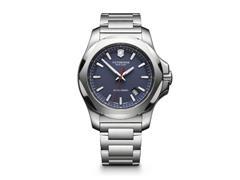 Relógio Victorinox I.N.O.X. Prateado fundo Azul