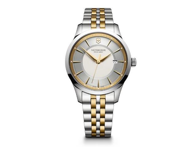 Relógio Victorinox Alliance Prateado e Dourado