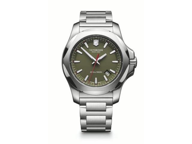 Relógio Victorinox I.N.O.X. Prateado fundo Verde