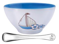 Jogo Porcelana Infantil Tramontina Le Petit Azul 2 Peças
