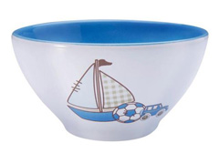 Jogo Porcelana Infantil Tramontina Le Petit Azul 2 Peças - 1