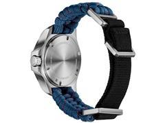 Relógio Victorinox I.N.O.X. V Pratedo Pulseira Azul - 4