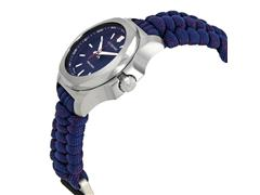 Relógio Victorinox I.N.O.X. V Pratedo Pulseira Azul - 2