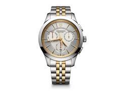 Relógio Victorinox Alliance Chronograph Prateado com Dourado