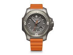 Relógio Victorinox I.N.O.X. Titanium Cinza Pulseira Laranja - 1