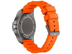 Relógio Victorinox I.N.O.X. Titanium Cinza Pulseira Laranja - 2