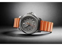 Relógio Victorinox I.N.O.X. Titanium Cinza Pulseira Laranja - 4