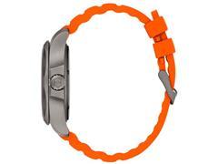 Relógio Victorinox I.N.O.X. Titanium Cinza Pulseira Laranja - 3